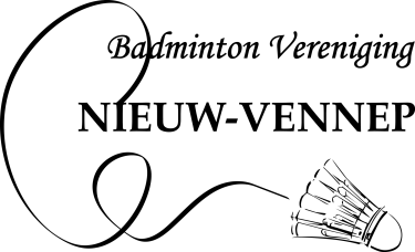 Logo Badminton vereniging Nieuw-Vennep